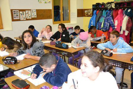 En salle de classe